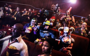 Картинка batman, Bioshock, Resident Evil, Joker, left 4 dead, Harley Quinn