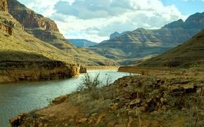 Картинка река, USA, США, river, Гранд-Каньон, Grand Canyon