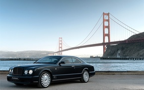 Обои bentley, мосты, auto walls, bridges