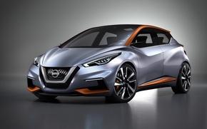 Картинка Concept, концепт, Nissan, ниссан, хэтчбек, городской, 2015, Sway