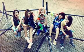 Картинка музыка, девушки, азиатки, Южная Корея, GLAM, K-pop