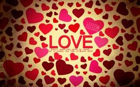 Картинка любовь, сердце, день святого валентина, дата, февраль