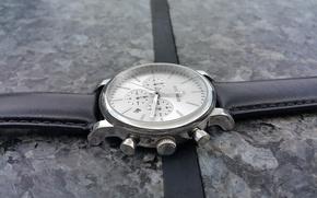 Картинка Black, Steel, Watch, Leather, Jack Pierre