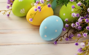Картинка цветы, праздник, яйца, ветка, весна, Пасха, Easter, пасхальные