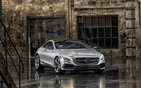 Картинка concept, mercedes-benz, coupe, s-class