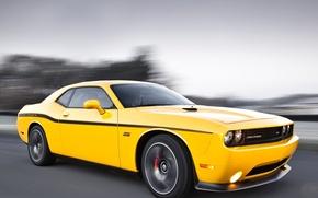 Картинка Dodge, challenger, muscle cars