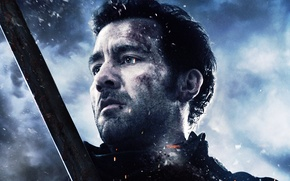 Картинка Action, Clouds, Sky, with, Wallpaper, War, Last, Raiden, Year, Weapons, Clive Owen, Knight, Man, Movie, …