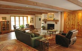 Картинка дизайн, стиль, комната, интерьер, камин, гостиная