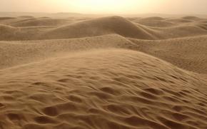 Обои жара, пустыня, песок