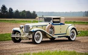 Обои Convertible, 1930, Cord, кабриолет, корд