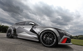 Картинка Audi, ауди, Avant, 2015, RS 6, Schmidt Revolution