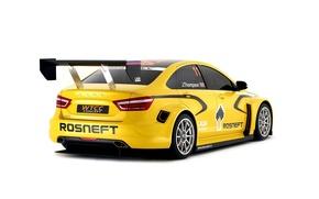 Картинка Concept, Спорт, Lada, Лада, WCC, Sport car, Vesta, Веста
