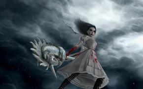 Картинка alice madness returns, hysteria, pony, alice-vip