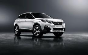 Обои Peugeot, 3008, пежо, кроссовер, фон