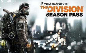 Картинка Зима, Игры, Снег, Здание, Солдаты, Оружие, Ubisoft, Game, Tom Clancy's The Division