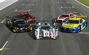 Картинка Audi, Машины, Спорткар, King of Endurance Racing