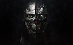Картинка Взгляд, Маска, Bethesda Softworks, Bethesda, Корво, Corvo, Arkane Studios, Dishonored 2