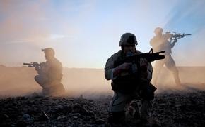 Картинка пушки, солдаты, американская армия
