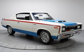 Картинка авто, мускул кар, muscle car, AMC, Rebel, The Machine