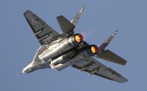 Картинка истребитель, полёт, многоцелевой, MiG-29A