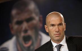 Картинка Спорт, Футбол, Мужчина, Реал Мадрид, Real Madrid, Футболист, Легенда, Zinedine Zidane, Зизу, Зинедин Зидан