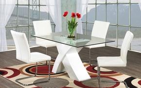 Картинка дизайн, город, стиль, интерьер, квартира, столовая