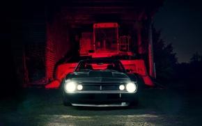 Картинка Chevrolet, перед, Camaro, шевроле, мускул кар, muscle car, front, камаро, LSX 454