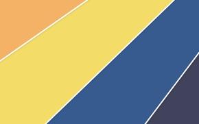Картинка белый, линии, оранжевый, синий, желтый, полосы, текстура, material