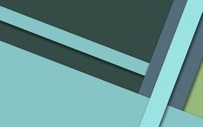Картинка линии, сolor, геометрия, голубой, material-design, зеленый