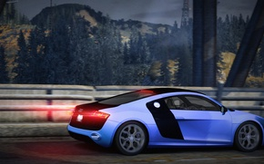 Картинка City, Audi R8, Need for speed world