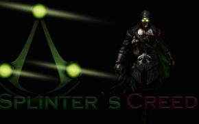 Картинка green, logo, Assassin's Creed, Splinter Cell, mix