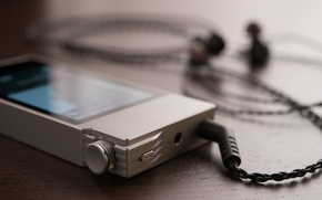 Картинка плеер, AK120II Details, Astell and Kern
