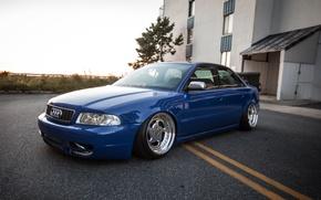 Картинка Audi, ауди, blue