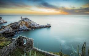 Картинка море, город, Италия, Portovenere