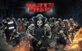 Картинка полиция, swat, DLC, Payday 2, Death Wish, Bulldozer