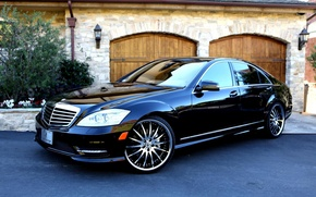 Картинка Mercedes, s-classe, мерседес, lexani, w221