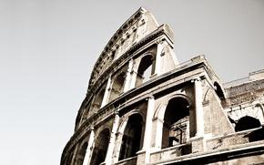 Картинка Рим, Колизей, Фрагмент