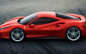 Обои 488, 2015, Ferrari, GTB, феррари