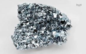 Обои грани, кристалл, осмий