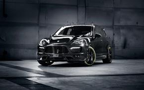 Картинка car, тюнинг, джип, внедорожник, Porsche Cayenne, порше, кайен, TechArt