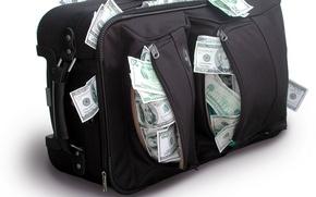Картинка доллары, деньги, сумки
