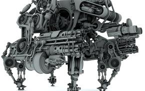 Обои Робот Боевой, Модель