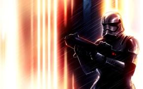 Обои шлем, star wars, Stormtrooper, Episode VII, Звездные войны: Эпизод 7 – Пробуждение силы, Star Wars ...