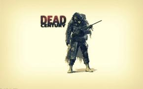 Картинка оружие, автомат, zombie, game, dead century