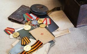Картинка 9мая, день победы, награды, медаль, документы
