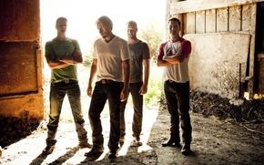 Картинка группа, мужчины, Чед Крюгер, рок-группа, Майк Крюгер, Nickelback, альтернативный рок, пост-гранж, Дэниел Адаир, Ryan Peake, …