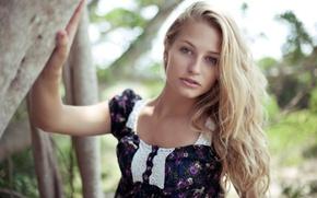 Картинка девушка, блондинка, фотограф, girl, photography, photographer, Brian Storey, Brielle