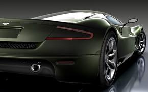 Обои машина, авто, Concept, Aston Martin, AMV10, зад