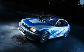Картинка машина, авто, тюнинг, BMW, Car, most wanted, E46