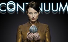 Картинка girl, woman, hands, actress, uniform, Rachel Nichols, show, first season, tv serie, futuristic show, time …
